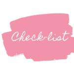 checklist matrimonio